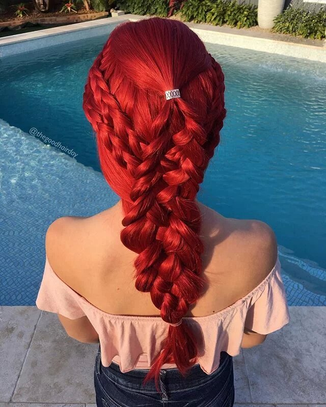 red braid wigs 02
