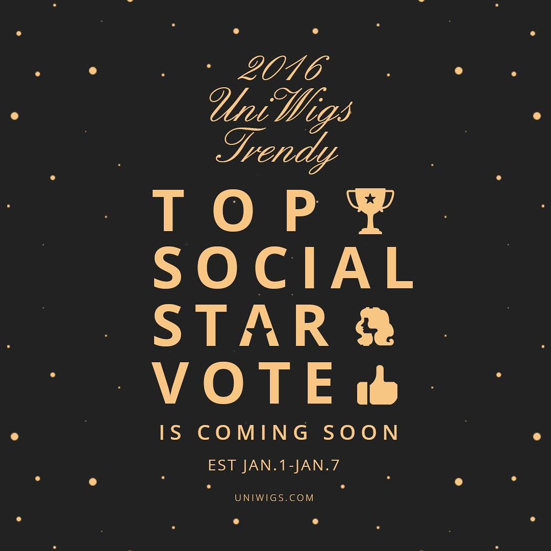 UniWigs 2016 top social star vote