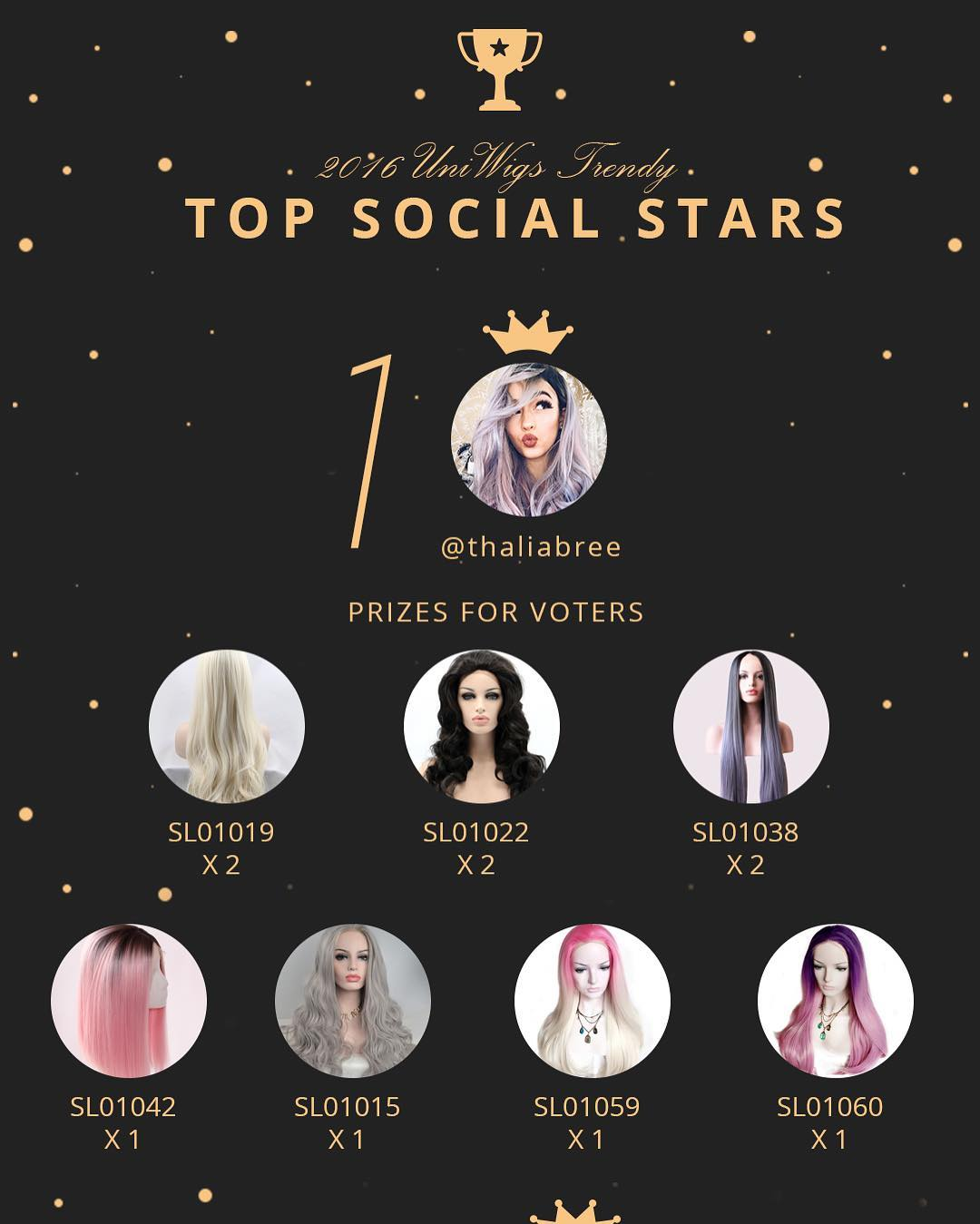 UniWigs 2016 Top Social Star Vote 01