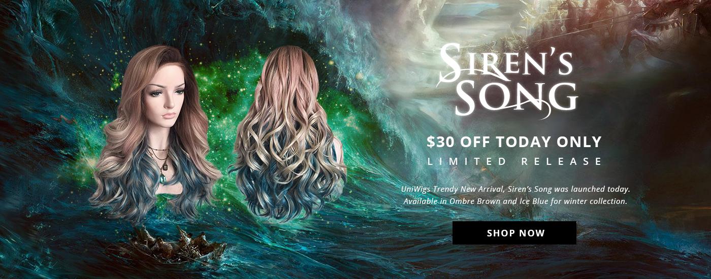Siren's Song wig