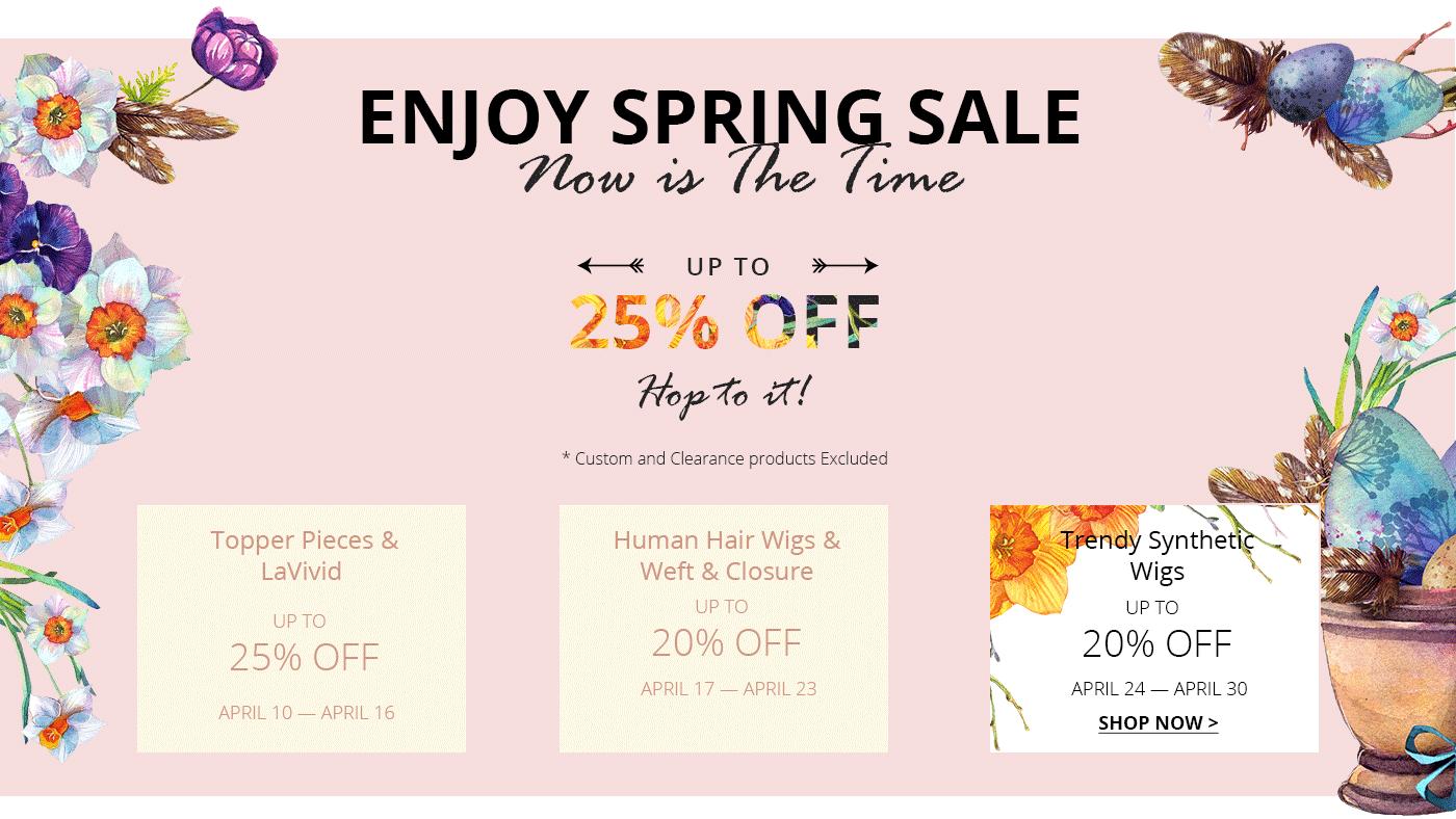 uniwigs spring sale 2017