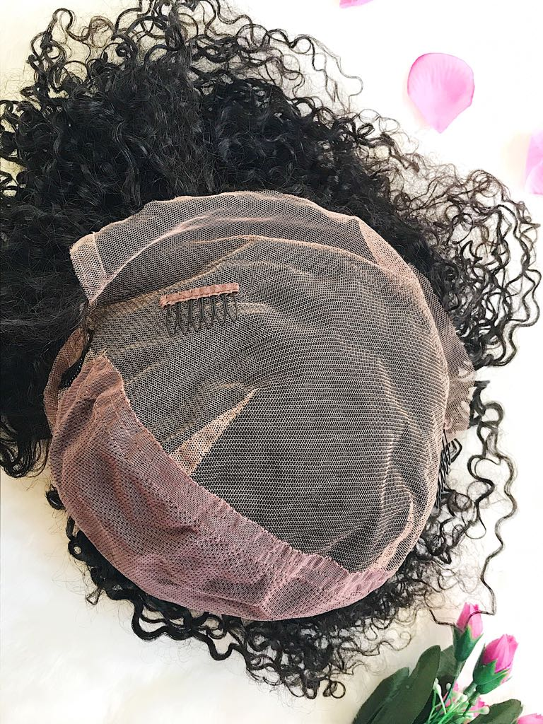 human hair lace front wig (5)