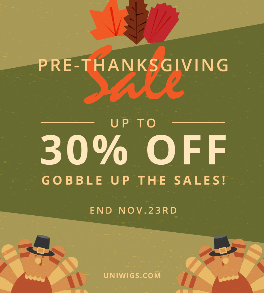 UniWigs' Thanksgiving sale
